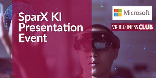 VR Business Club SparX Presentation-Event: Künstliche Intelligenz