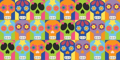Celebration Of The Senses: Day of the Dead Messy Play (with Baby Spanish)