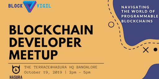 Blockchain Developer Meetup