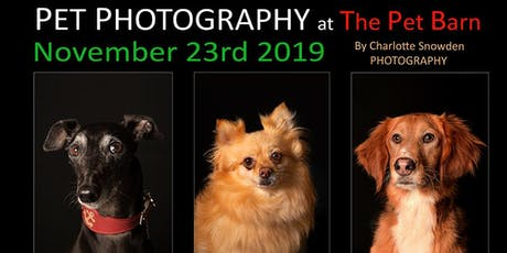 Pet Photography - Pet Barn tickets