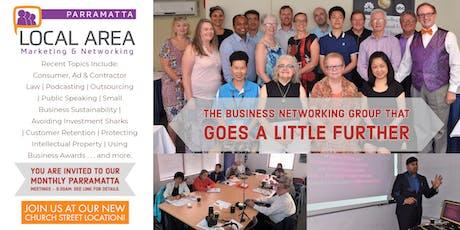 Local Area Marketing & Networking - Parramatta tickets
