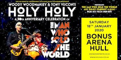 Holy Holy feat. Woody Woodmansey & Tony Visconti (Bonus Arena, Hull)