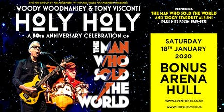 Holy Holy feat. Woody Woodmansey & Tony Visconti (Bonus Arena, Hull) tickets
