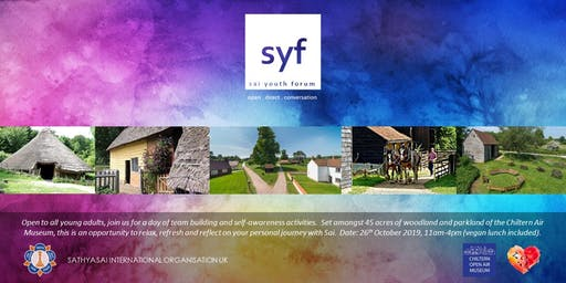 SSIOUK Sai Youth Forum - Autumn Event: Chiltern Open Air Museum