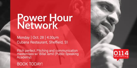The Power Hour Network - October. Pitching your business to perfection! tickets