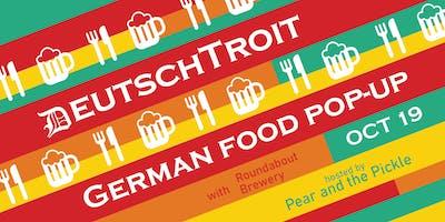 DeutschTroit German Food Pop-up