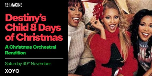 Destiny's Child 8 Days of Christmas: A Festive Orchestral Rendition