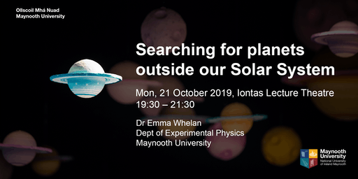 "Public lecture ""Searching for planets outside our Solar System"""