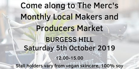 Local Makers and Produce Market - Burgess Hill tickets