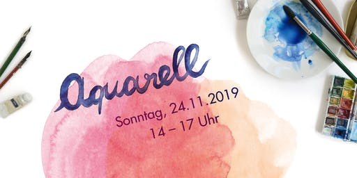 Aquarellworkshop bei Louloute am 24.11.2019