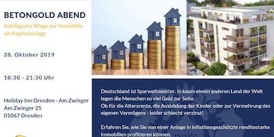 Betongold Abend - Die Immobilie als Kapitalanlage