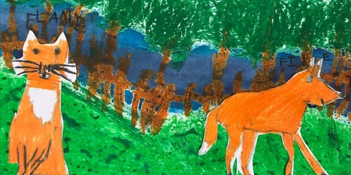 Forest Friends: Children's Painting Class with @learn2draw