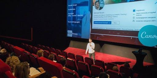 LinkedIn Masterclass  - Almere - Incl. lunch + profielfoto (€ 99,- ex btw)
