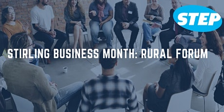 Online - Stirling Business Month: Rural Business Forum tickets