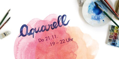 Aquarellworkshop bei Allerhand Concept Store am 21.11.2019 Tickets