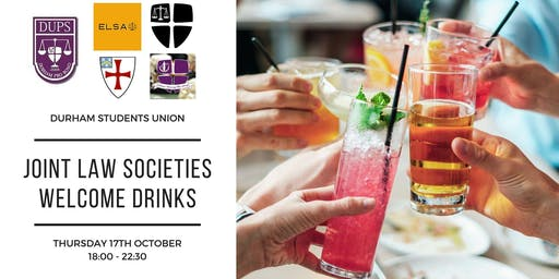 Law Societies' Welcome Drinks