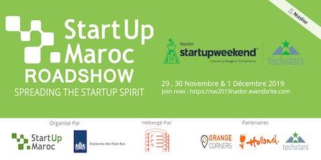 Startup Weekend Nador 2019 entradas