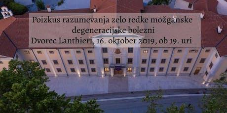 Znanstveni večer Univerze v Novi Gorici biglietti