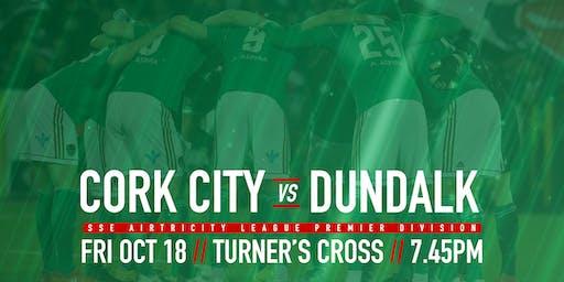 Cork City FC v Dundalk FC