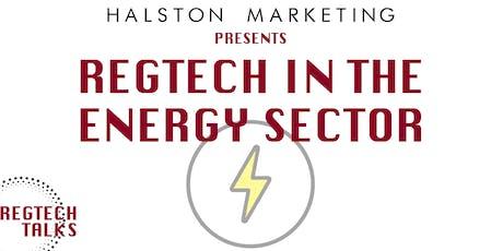 RegTech Talks: RegTech in the Energy Sector tickets