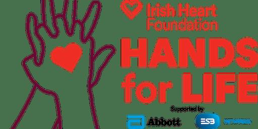Lusk Man O War GAA Club Dublin - Hands for Life