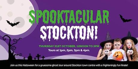 Spooktacular Stockton - 4pm tour tickets