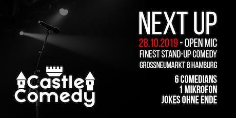 Castle Comedy #8 - Stand-Up aus dem Schloss! Tickets