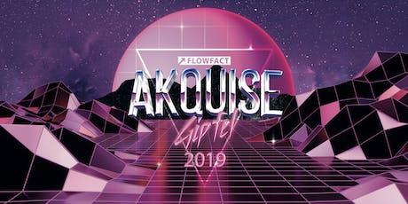 Akquisegipfel 2019 Tickets
