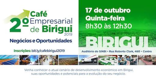2º Café Empresarial de  Birigui