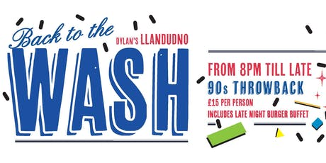 Back to the Wash tickets