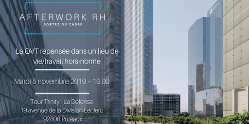 AfterWork RH Paris - La QVT repensée dans un lieu de vie/travail hors-norme