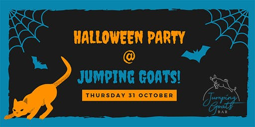 Halloween Party at Jumping Goats!