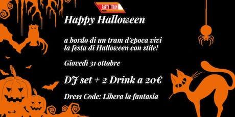 Halloween in Tram biglietti