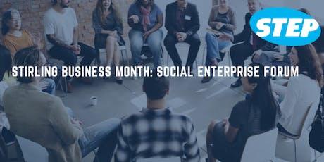 Stirling Business Month: Social Enterprise Forum tickets
