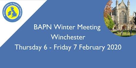 BAPN Winter Meeting tickets