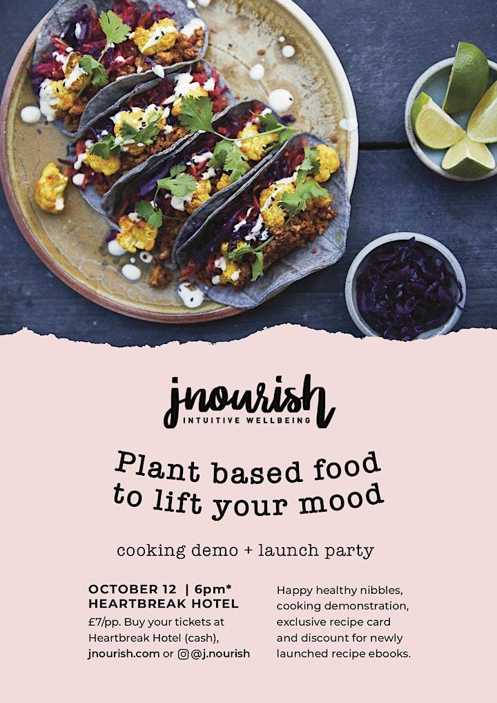 J.Nourish ebook launch party image
