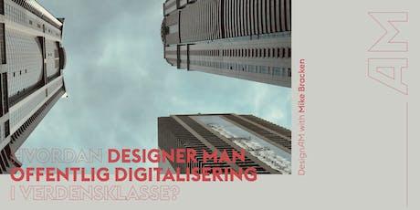 DesignAM: Design af offentlig digitalisering tickets