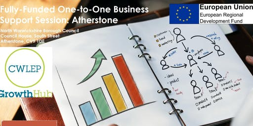 One to One business Support: Atherstone