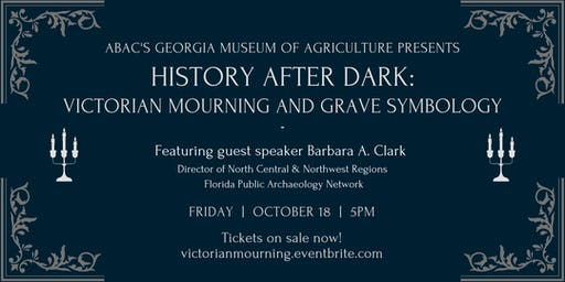 History After Dark: Victorian Mourning & Grave Symbology