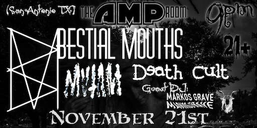 Bestial Mouths Dig Into San Antonio