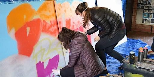 Portffolio: Graffiti ymarferol/Hands on Graffiti with Andy Birch