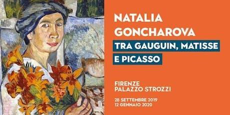 Natalia Goncharova e le avanguardie tra Gauguin, Matisse e Picasso biglietti