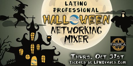 LPN's Halloween Latino Networking Mixer tickets