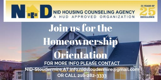 NID-Stoudermire Housing Counseling Workshop