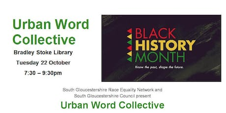 Urban Word Collective @ Bradley Stoke Library tickets
