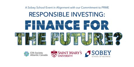 Responsible Investing: Finance for the Future? tickets