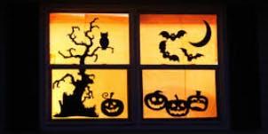 SPOOKY Window Decorations
