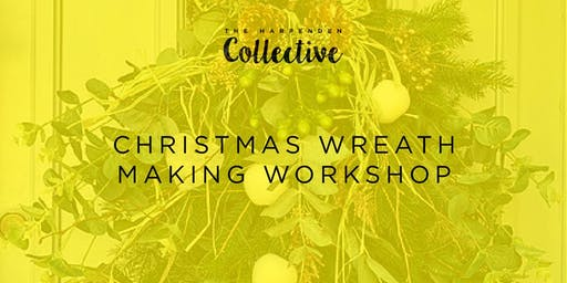 Christmas Wreath Making Workshop with Kate Buchanan Textile Artist