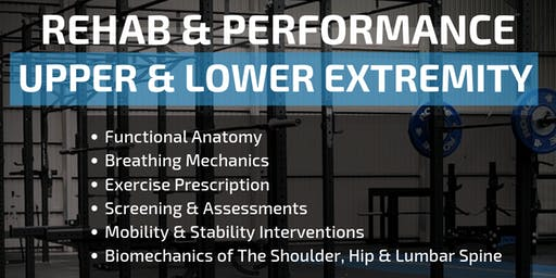 REHAB & PERFORMANCE - Upper & Lower Extremity