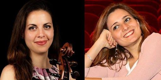 Concert de Ludovica Rana, violoncelle, et Stefania Argentieri, piano